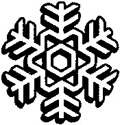 clipart of snowflake